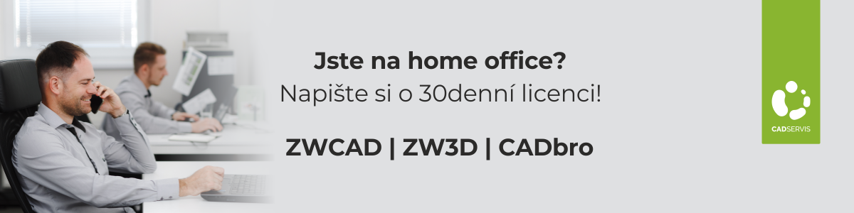 Licence ZWCAD a ZW3D zdarma pro home office