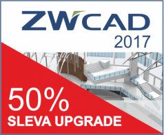ZWCAD 2017 - upgrade za 50%